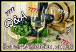 What is aftertaste when drinking wine?